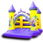 Castle Shaped Bouncy Castles