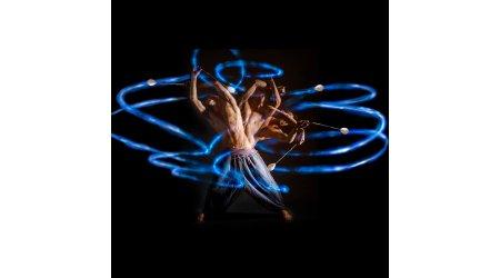 LED Poi, Hoop & Diabolo