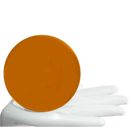 Acrylball orange milchig