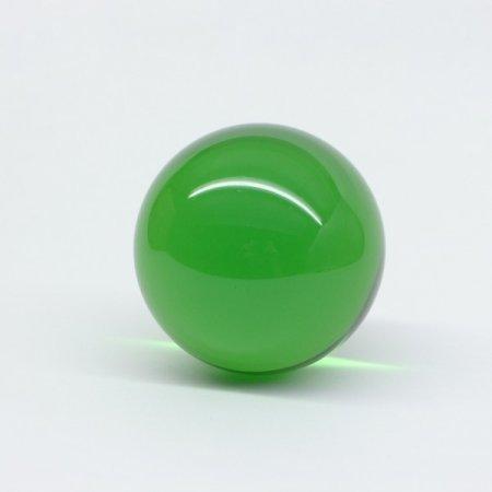 Acrylball grün milchig