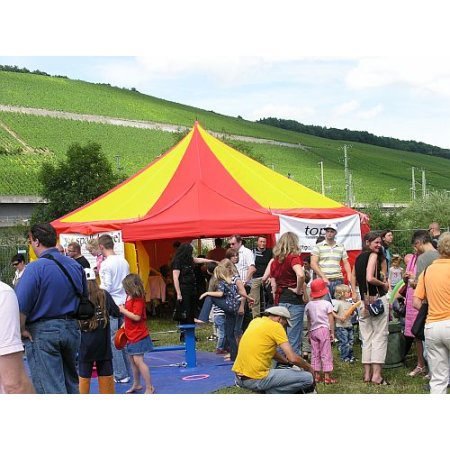 Circus tent with 10m diameter (with hard linkage)