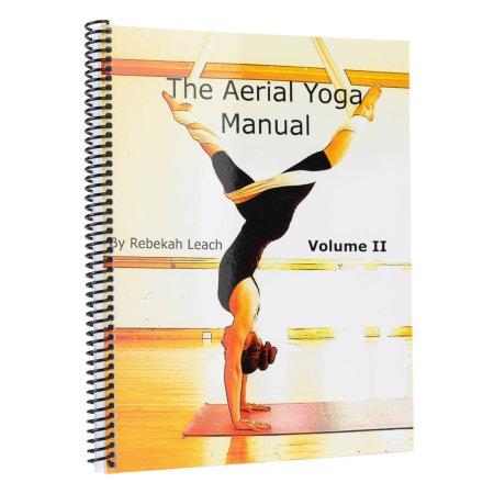 Book - The Aerial Yoga Manual Vol. 2 by Rebekah Leach- in English
