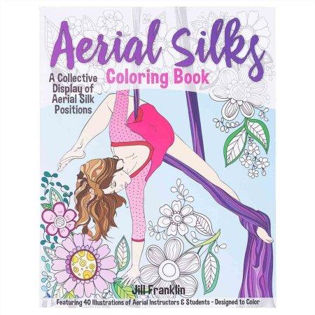 Buch-Aerial Silks Colouring Book - Ausmalbuch zum Vertikaltuch