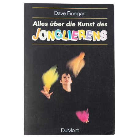Book in German - Everything about the art of juggling
