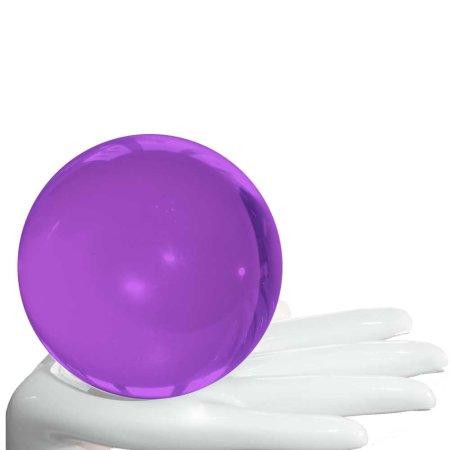 Acrylball lila