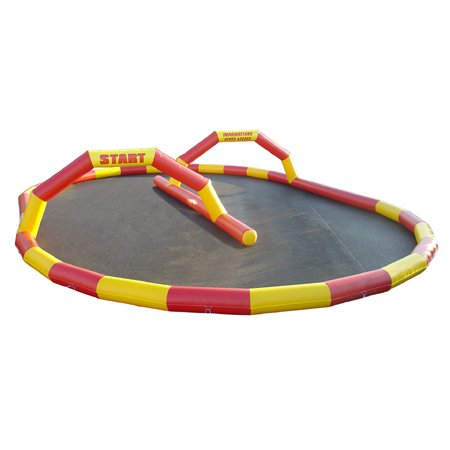 Karting / Quad track red / Yellow