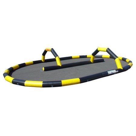 Karting / Quad track black / yellow