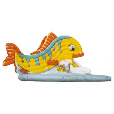 """Snappy Bouncy castle / slide """"Tropical Fish"""""""