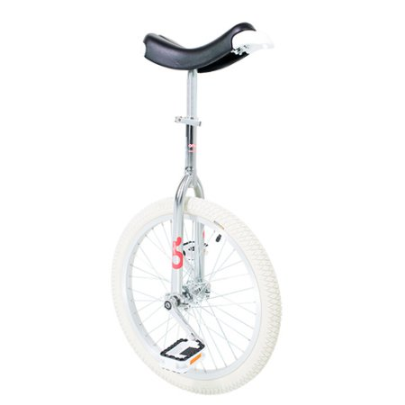 """Unicycle Only One Indoor 20"""" chrome"""