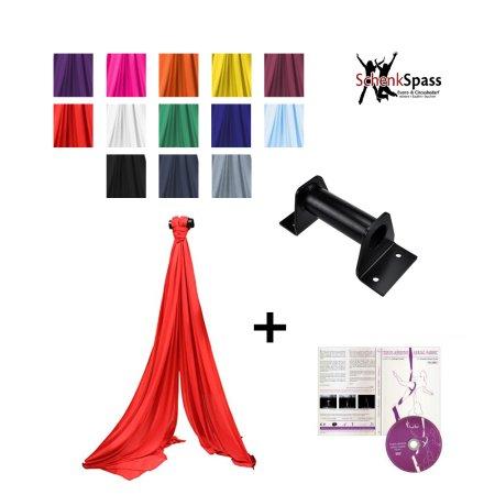 Vertikaltuch Kit - 6 m Vertikaltuch + DVD Vertikaltuch Folge 1 + Aufhängung für die Decke