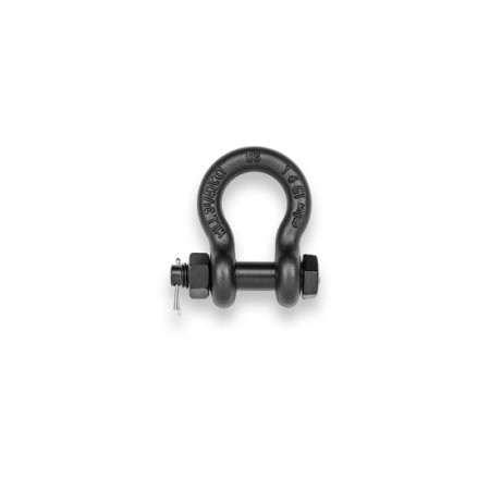High-strength shackle, with nut & split pin