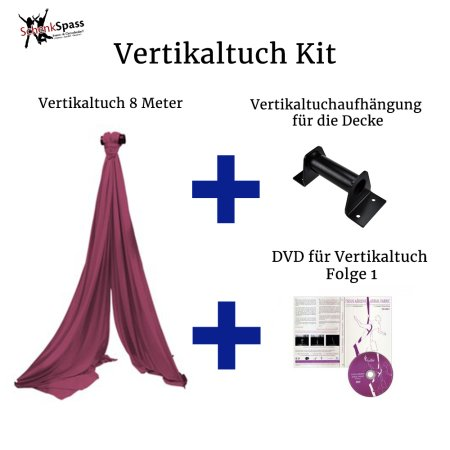 - Aerial Fabric Color Maroon + Black Ceiling Mount