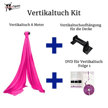 - Aerial Fabric Color Pink + Black Ceiling Mount