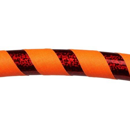 UV orange  / rot-glitzer