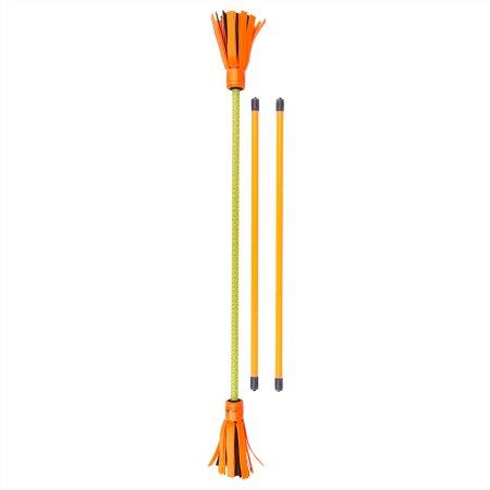 Enden orange, Körper gelb