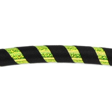 schwarz / gelb-glitzer