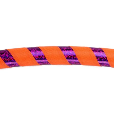 UV orange / lila-glitzer