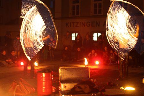 Bild Feuershow Duo SchenkSpass, Frederik und Christian Schenk